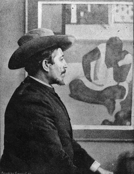 rostro de pintores gauguin