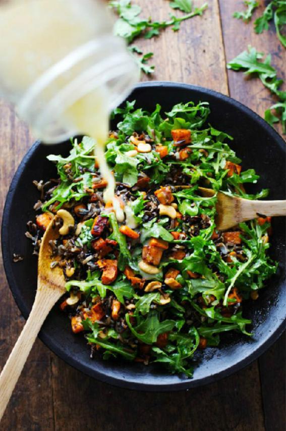 salad Comida libanesa