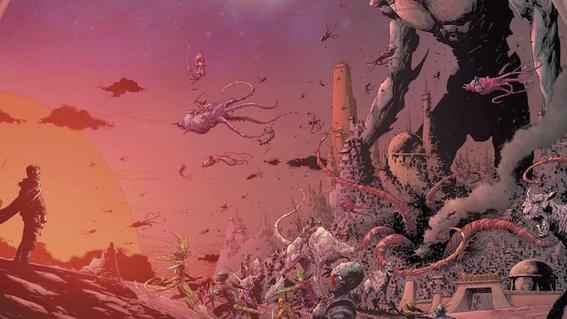 seven Image comics