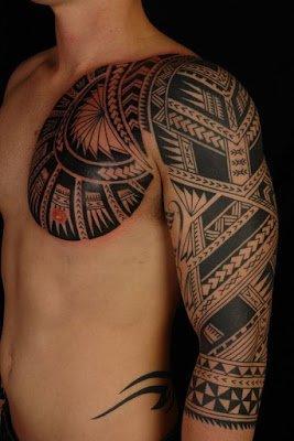 tribal tattoos warrior