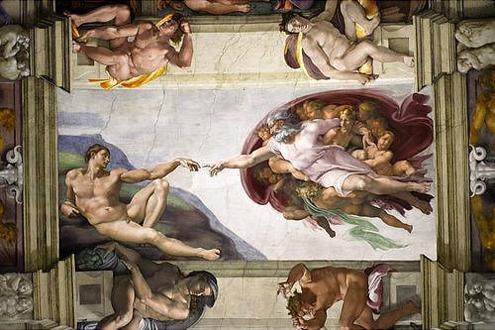 sixtina tecnicas de muralismo