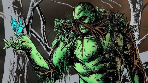 swamp Image comics