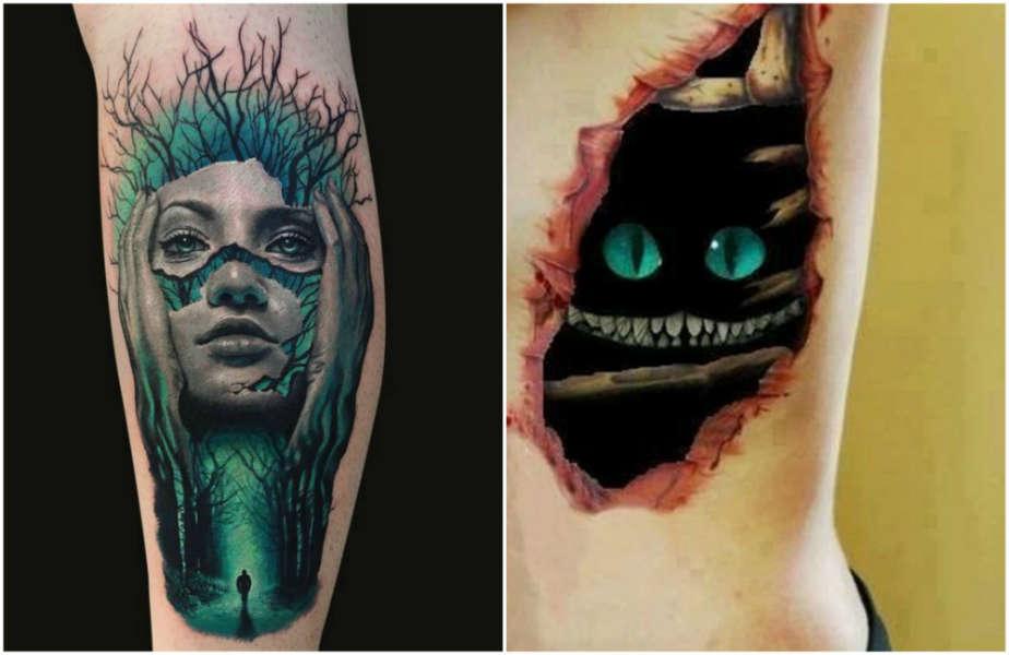 Tatuajes 3d que querr s tener para alterar tu realidad - Tattoo disenos a color ...