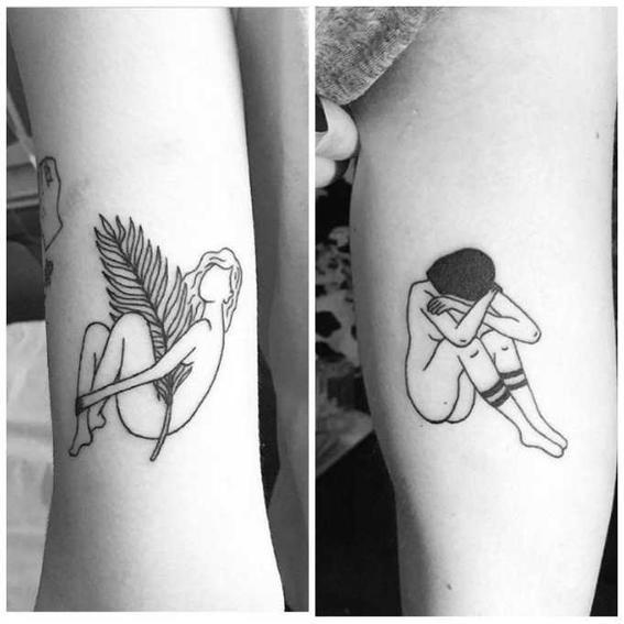 tatuajes hipster llorar