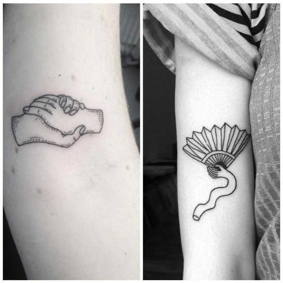 tatuajes hipster  mano