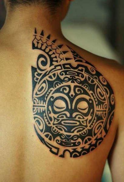 tatuajes maori cara