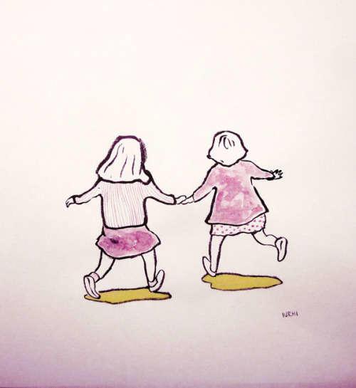 ilustraciones de iurhi peña amigas