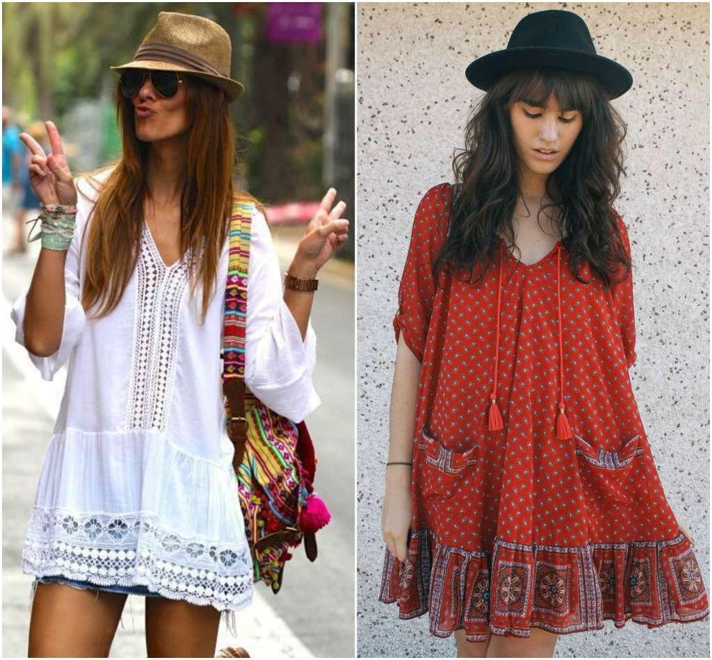 Vestidos bohemios que las mujeres de pensamiento libre amarán - Moda