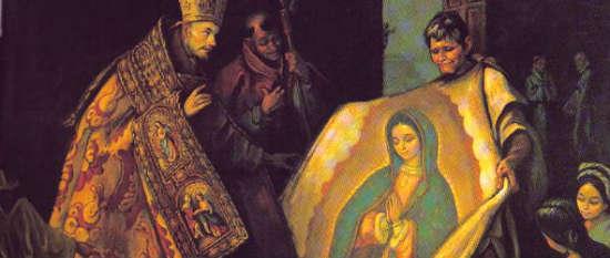 virgen de guadalupe invento espanol aztecas