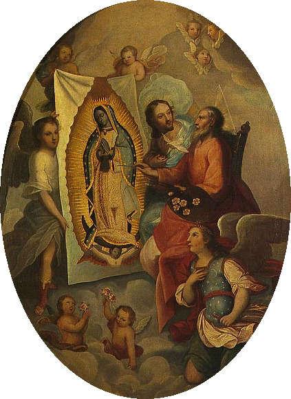 virgen de guadalupe invento espanol dios