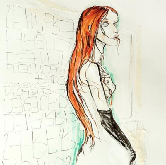 Ilustraciones que s lo entender s desnudo frente a un for Espejo que se rompe solo