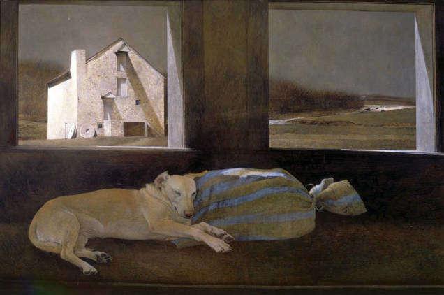 Andrew Wyeth hated artist dog-w636-h600