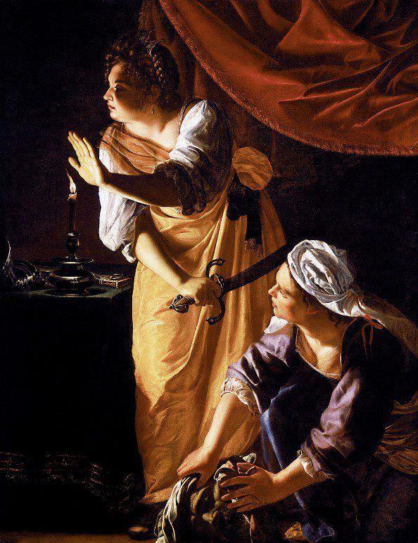 Artemisia Gentileschi obra