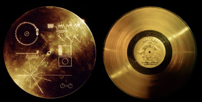 voyager disco de oro