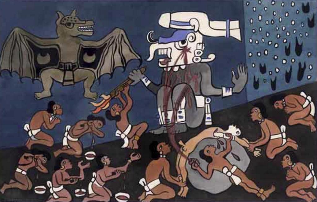 demonios prehispanicos