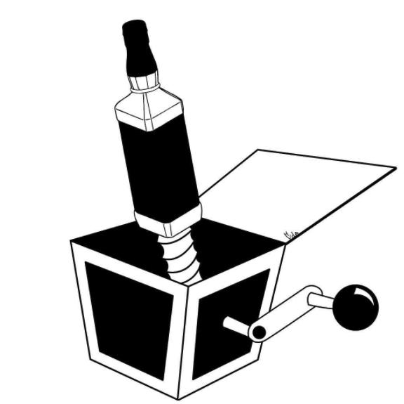 ilustraciones de Han van den Abbeele cerebro-w636-h600