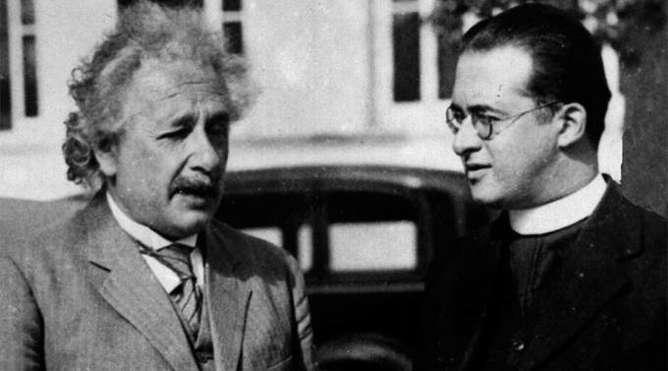 Georges Lemaitre Einstein