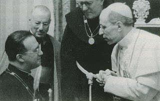 Georges Lemaitre papa Pio XII