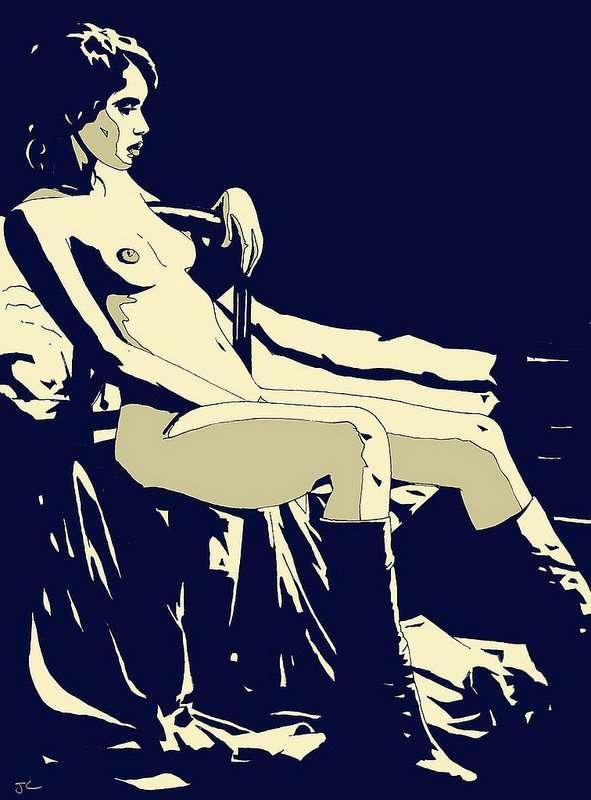 Giuseppe Cristiano art sad gaze