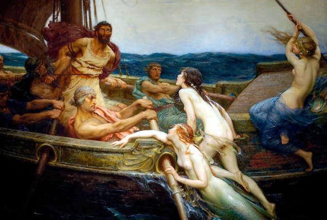 Mermaid mythology james draper