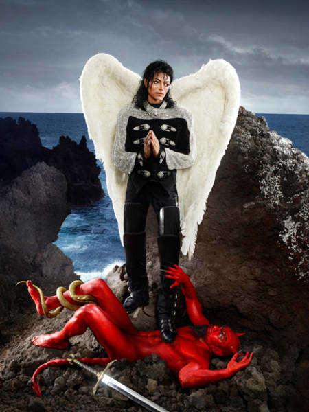 Michelangelo Michael Jackson Pop Icons archangel michael-w636-h600