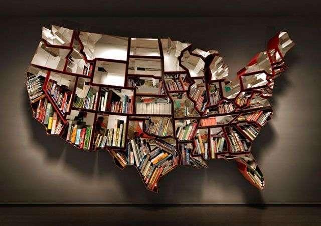 Ron Arad mapa librero