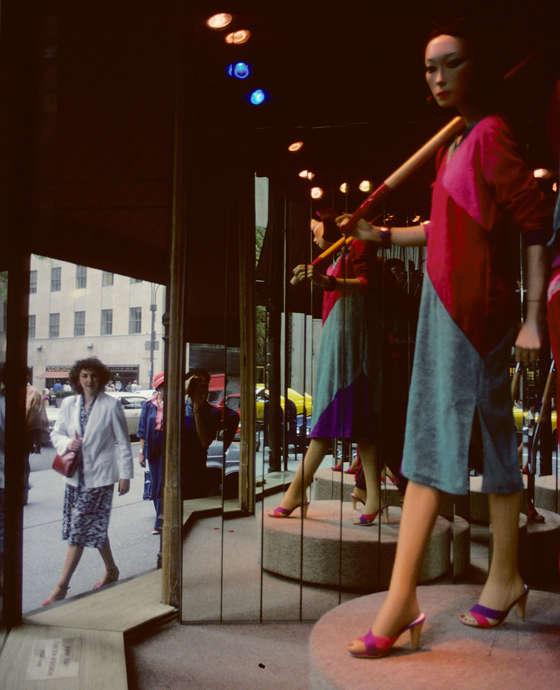 aparador fotografias de nueva york en los 80