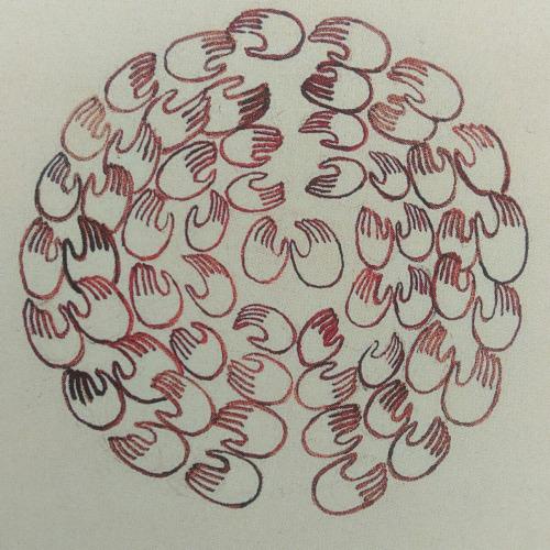 arte de Devendra Banhart manos