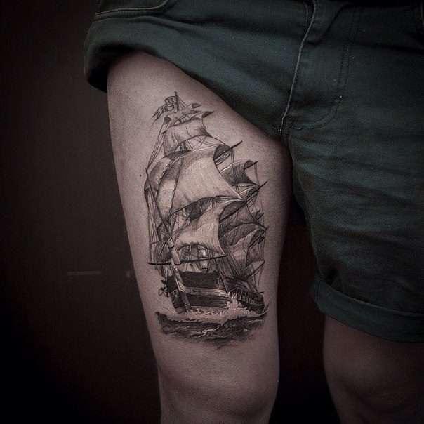 barco tatuajes de barcos