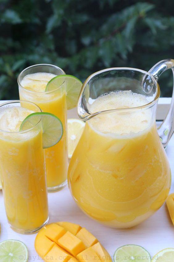 bebidas para tener abdomen plano agua de sabor
