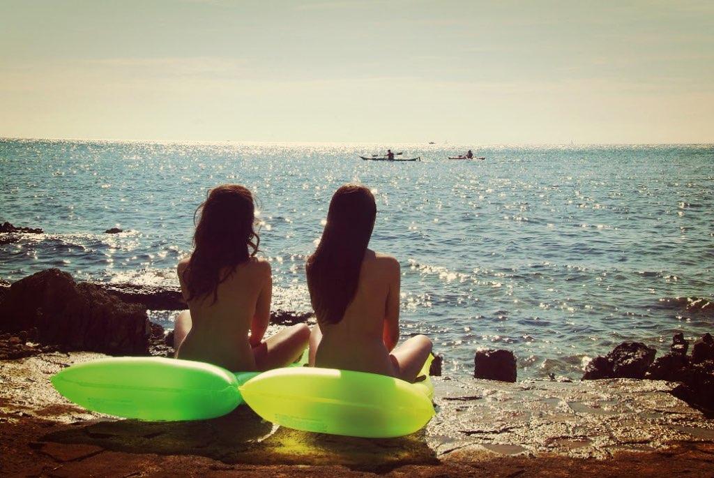 cap dagde playas nudistas