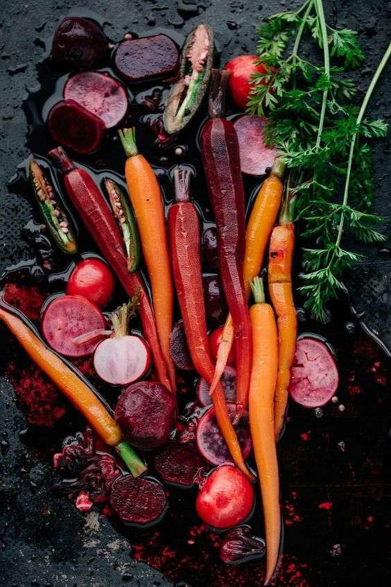 carrot alimentos refrescantes