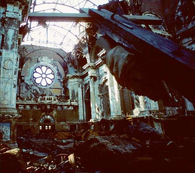 catedral fotografias de nueva york en los 80