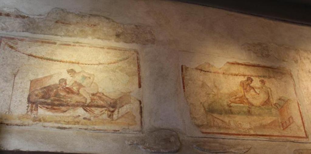clubes sexuales en pompeya lupanar detalle