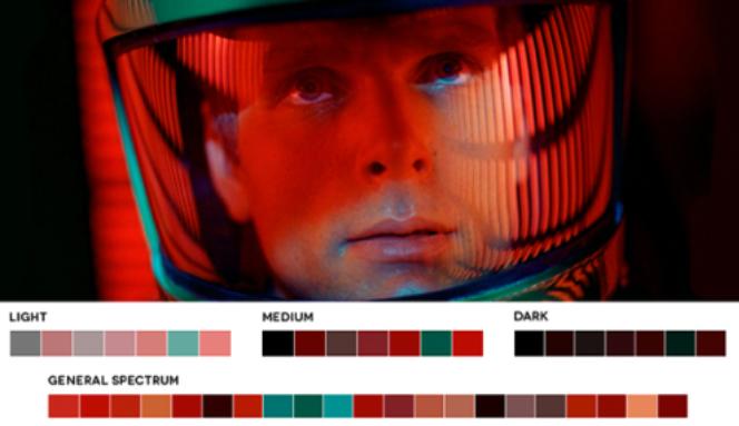 colores en el cine rojos y naranjas
