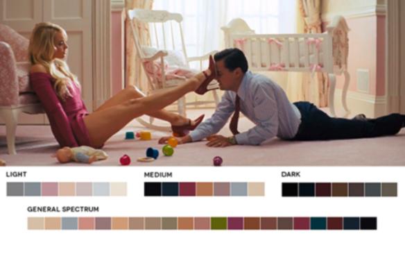 colores en el cine rosa y azul