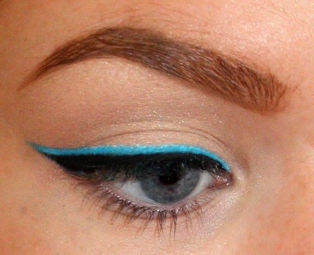 como delinearte los ojos colores