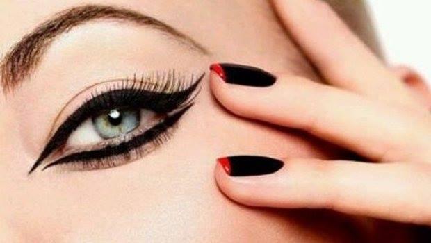 como delinearte los ojos egipcio