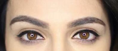 como delinearte los ojos indico