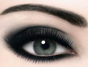 como delinearte los ojos linea ahumado