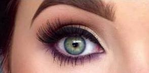 como delinearte los ojos linea bold