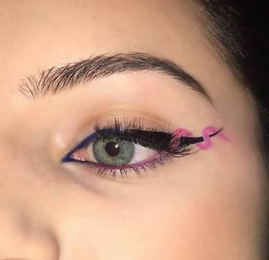 como delinearte los ojos linea helix