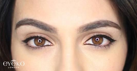 como delinearte los ojos linea luistico