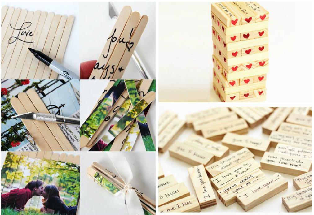 como hacer cartas de amor creativas madera