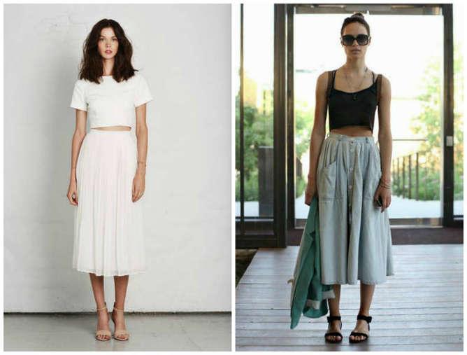 como utilizar prendas minimalistas japones falda larga-h600