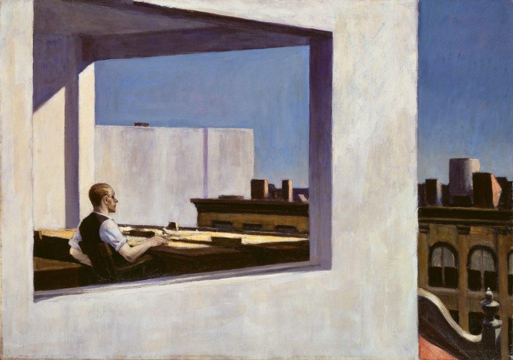 obras de Edward Hopper