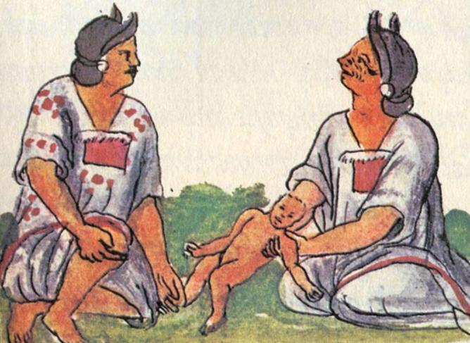 embarazo en cultura nahua