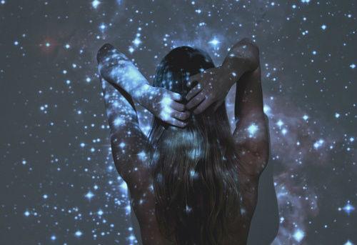 estrellas galaxia mujer