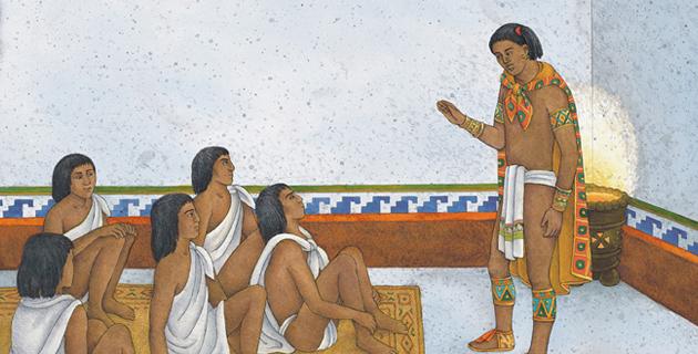 Resultado de imagen para maestro de la epoca prehispanica