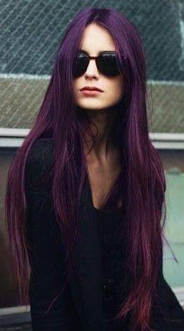 formas de llevar cabello lacio raya en medio